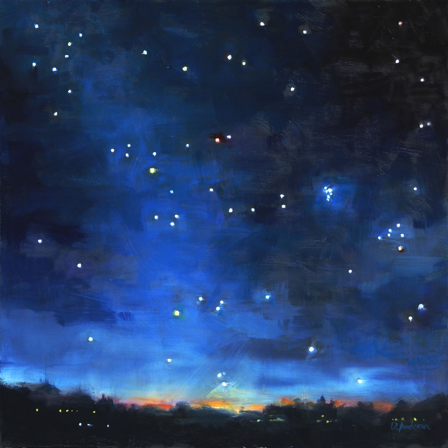 The Night Sky - The Seven Sisters