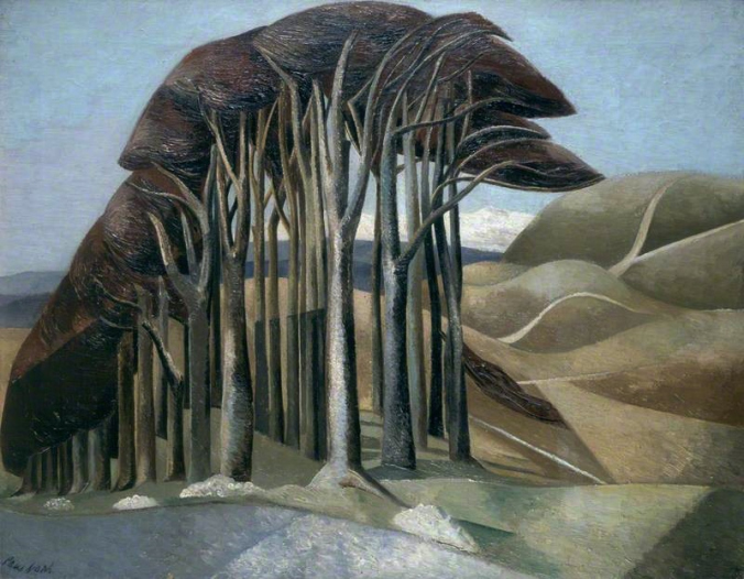 Wood on the Downs , 1929 Paul Nash